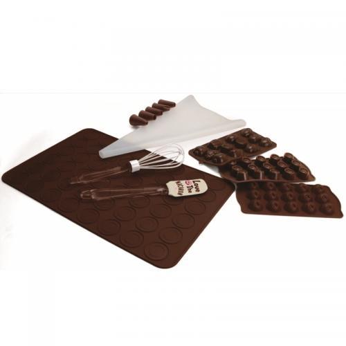 סט 7 חלקים מסיליקון להכנת שוקולדים