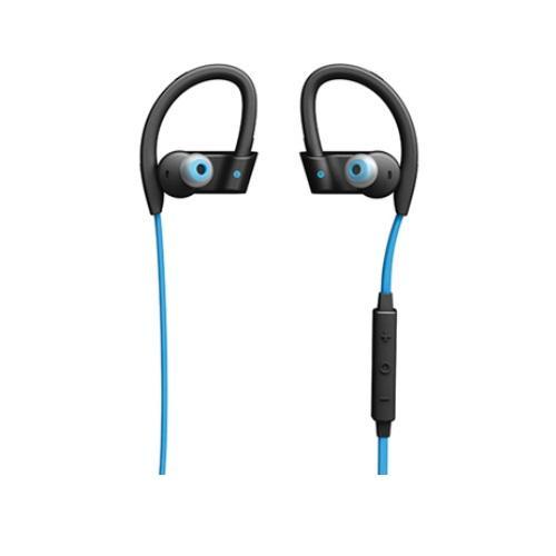 אוזניות ספורט אלחוטיות בצבע כחול מבית ג'ברה