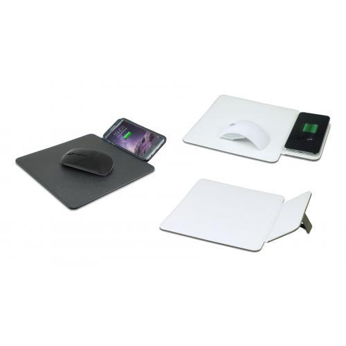 משטח טעינה אלחוטי משולב פד לעכבר מחשב