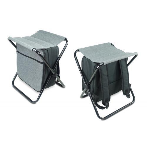 שלוש במוצר אחד - צידנית שהיא תיק גב וכיסא פיקניק
