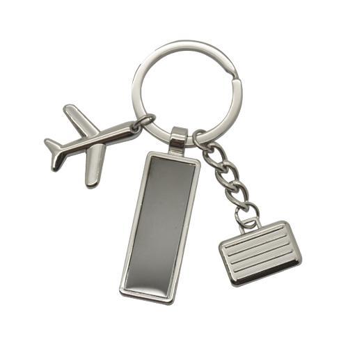 מינסוטה - מחזיק מפתחות עם תליונים ולוחית חריטה