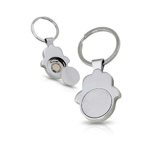 חמסה פלוס- מחזיק מפתחות עם מטבע נשלף