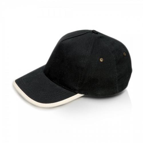 ליפז - כובע מצחיה מכותנה סרוקה