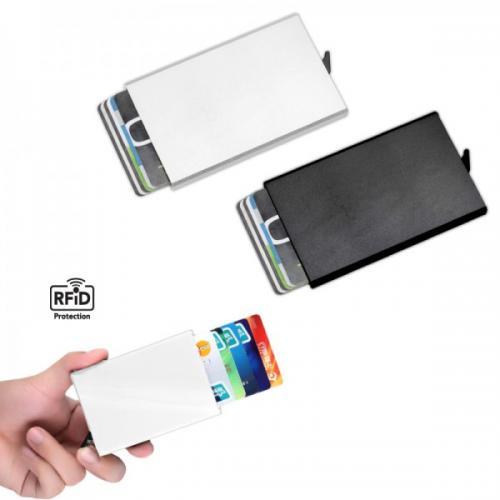 ארנק מתכת מעוצב לכרטיסי אשראי- מתאים למיתוג
