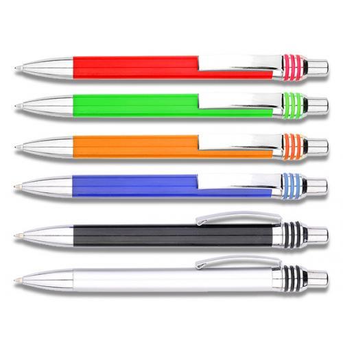 אולבני - עט כדורי עם שילובי מתכת