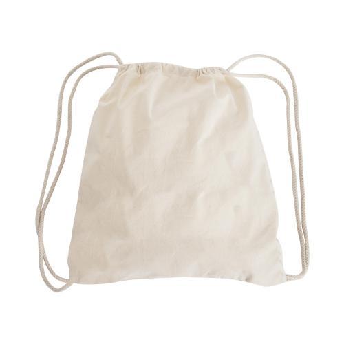 תיק שרוך עשוי בד כותנה