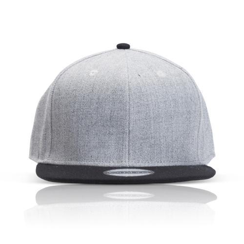 כובע אופנתי מצחיה ישרה משולב 2 צבעים