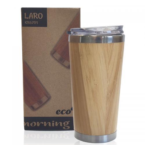 כוס תרמית בעיצוב במבוק
