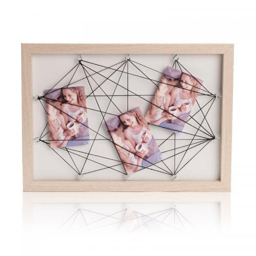 מסגרת לתמונה עשויה עץ בעיצוב חדשני