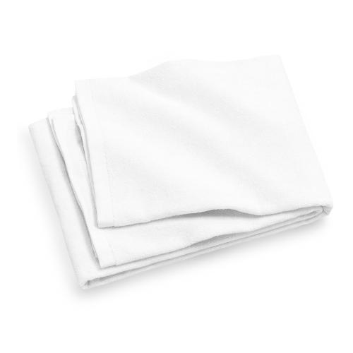 מגבת מיקרופייבר בצבע לבן