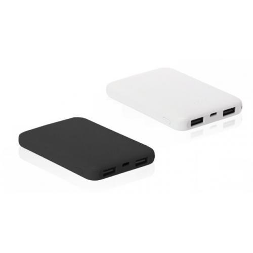 סוללת גיבוי קומפקטית עם 2 יציאות USB ויציאה TYPE C