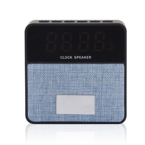 רמקול בלוטוס עם שעון תצוגה דיגיטלי