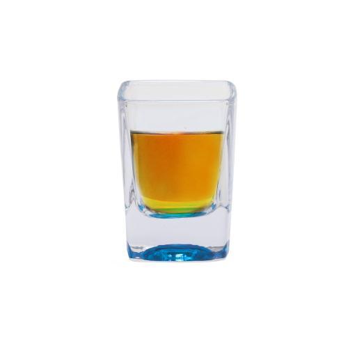 פיג' - כוס צ'ייסר צבעונית