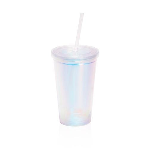 כוס מעוצבת שקופה