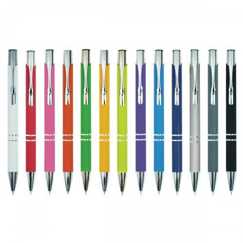 עט כדורי 0.7 צבעוני