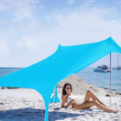 אוהל ציליה זוגי לים
