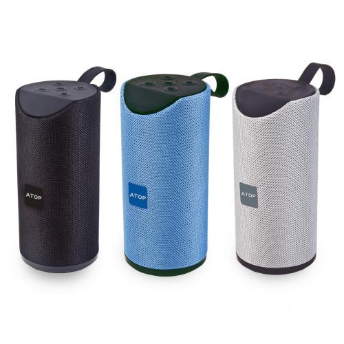 רמקול אלחוטי Bluetooth עמיד למים עם לולאת סיליקון