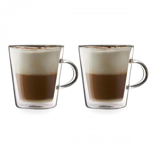 זוג כוסות עם דופן כפולה