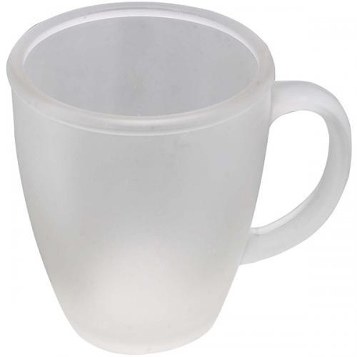 ספל זכוכית חלבי קלסיקה
