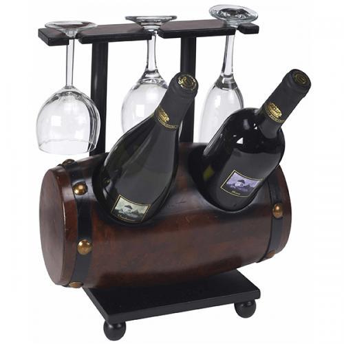 מעמד כוסות ובקבוקים