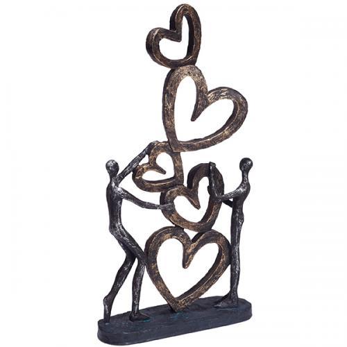 """פסל אומנותי - """" אהבה באויר """""""