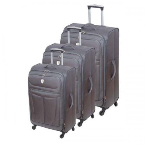 """סט שלוש מזוודות """"טרמינל"""" בגדלים """"28""""24""""20"""