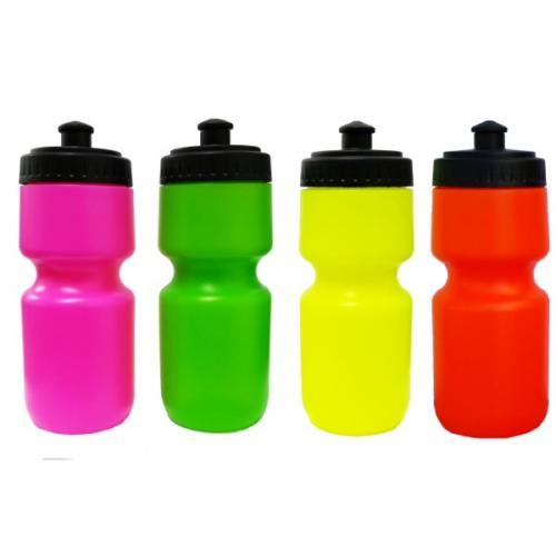 """בקבוק ספורט זוהר 450 מ""""ל בצבעי נאון"""