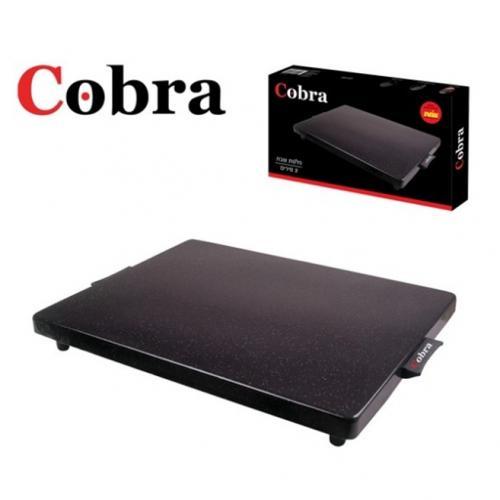 קוברה פלטת שבת גדולה 400W שחור COBRA