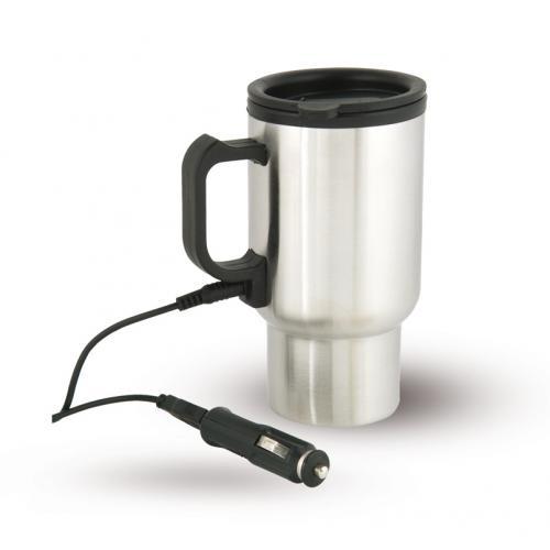 כוס טרמית עם חיבור למצת וUSB