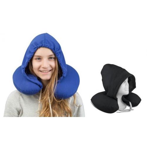 כרית צוואר עם כובע