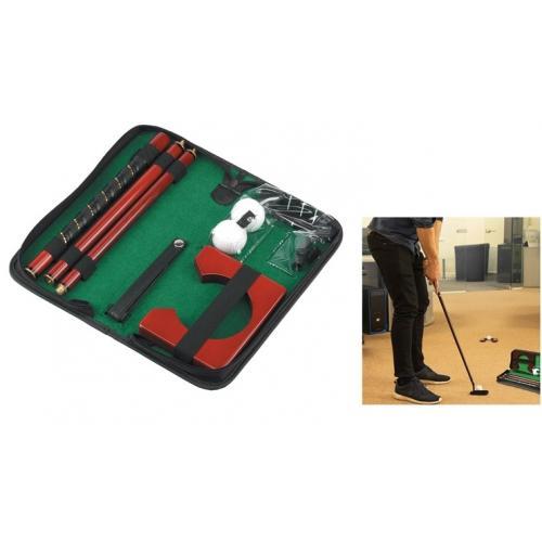 סט גולף לבית או למשרד - משחק מאתגר לכל המשפחה!