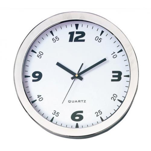 ביג-בן שעון קיר מסגרת כרום
