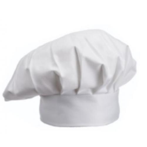 כובע שף למבוגר מבד איכותי