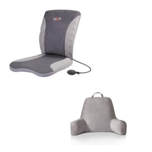 הסוף לכאבי גב! מארז מושלם לגב בריא הכולל מושב אורטופדי וכרית תמיכה - דר' גב