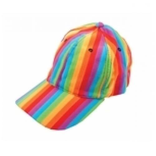 כובע קסקט דוגמת קשת