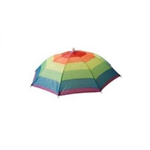 כובע מטרייה דוגמת קשת