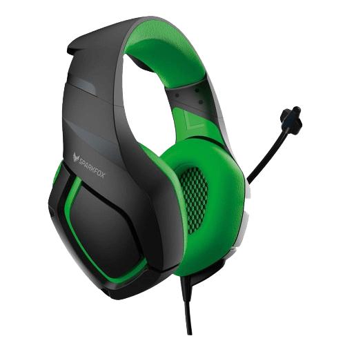 אוזניות גיימינג SPARKFOX K1 אוזניות גיימינג בעיצוב מיוחד לנוחות מקסימלית לשמע ודיבור וביטול רעשי רקע