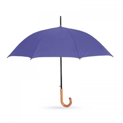 מטריה מעוצבת עם מוט מתכת
