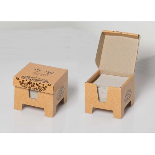 קופסת תזכירים (memo) עם רגליות