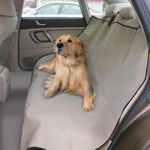 כיסוי מגן לחיות מחמד למושב האחורי ברכב