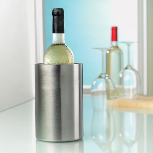 שמפניירה יוקרתית עשויה נירוסטה דופן כפולה