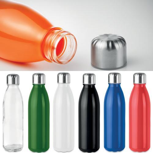 בקבוק שתייה באולינג במבחר צבעים - עשוי זכוכית