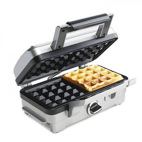 מכשיר להכנת וופל בלגי בעוצמת 1000W ליצירת כרום מוזהב ופריך לוופל