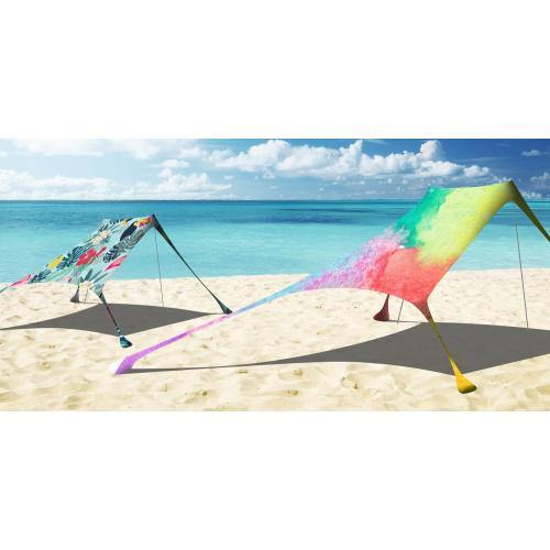ציליות חוף זוגית - ערכות הצללה עם הדפס צבעוני מלא מבית אמה הנסון