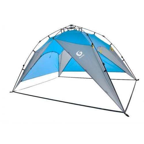 אוהל פתוח 5 אנשים כחול QUEST