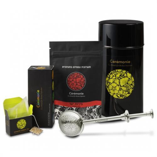 מארז תה מהודר בגליל פח