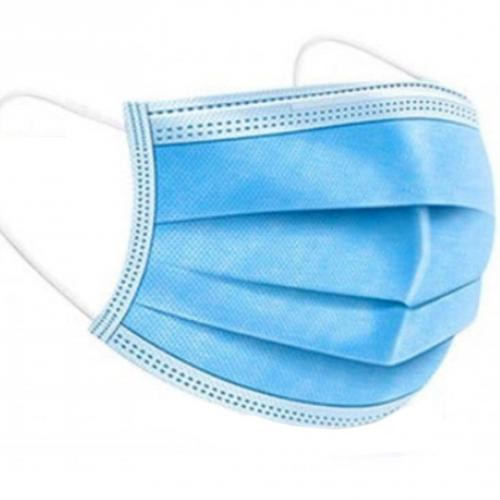מסכת מגן תלת שכבתית להגנה בפני וירוס הקורונה - לשימוש אזרחי
