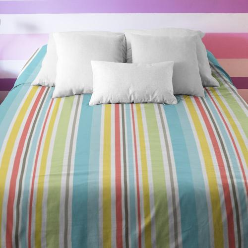 מצעים למיטת יחיד בהדפסת Allover