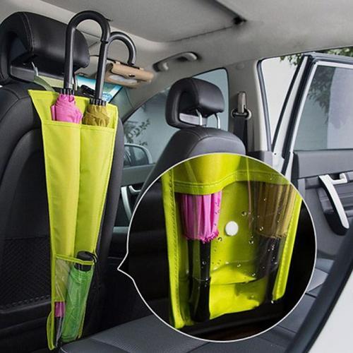 מתקן ארגונית כפולה להחזקת המטריות ברכב