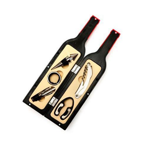 קופסאת פותחנים דמוי בקבוק יין